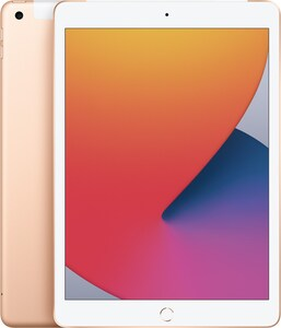 iPad (128GB) WiFi + 4G 8.Generation gold
