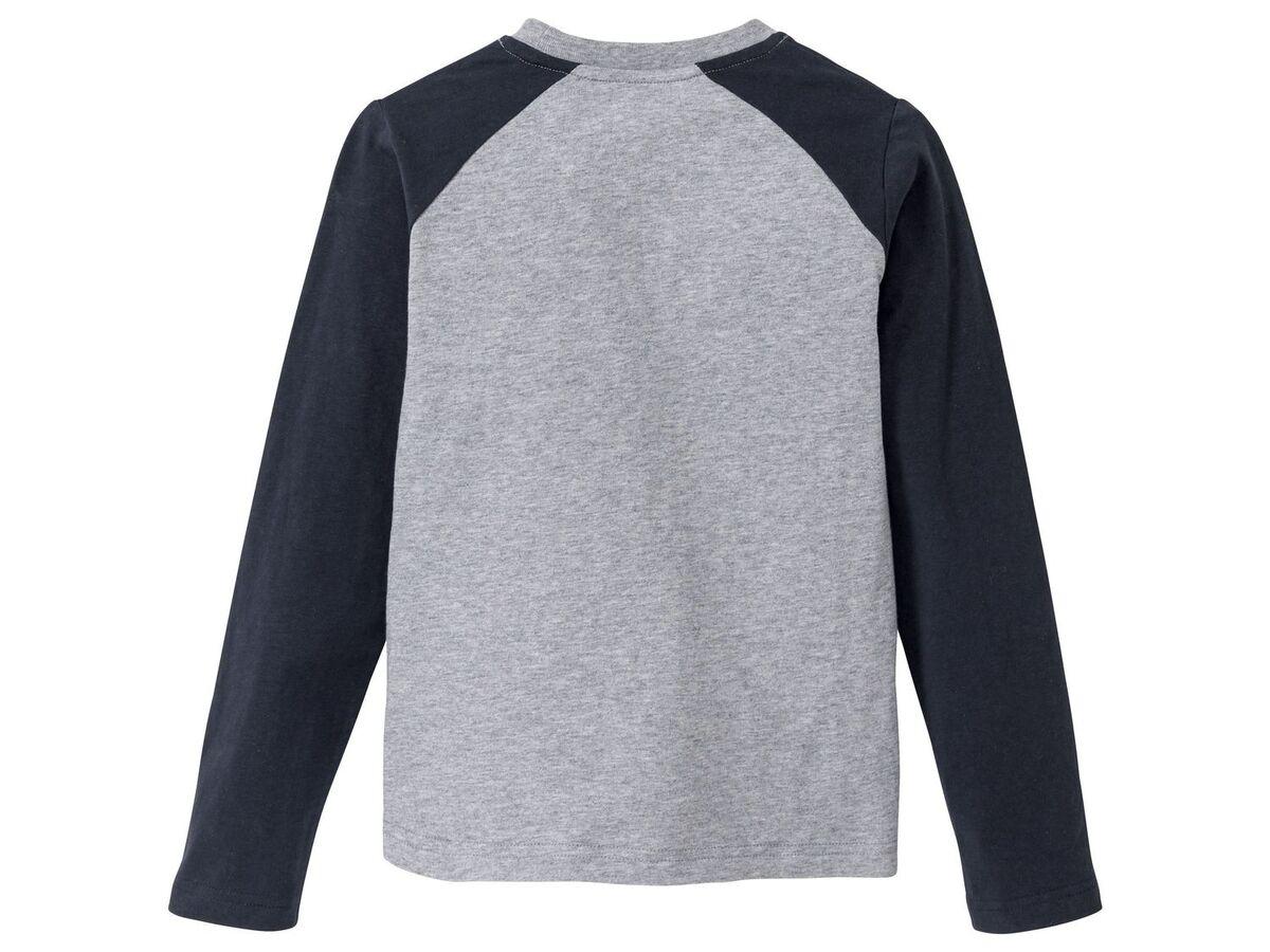 Bild 4 von PEPPERTS® Jungen Pyjama, Shirt aus Baumwolle, Hose in Fleece-Qualität