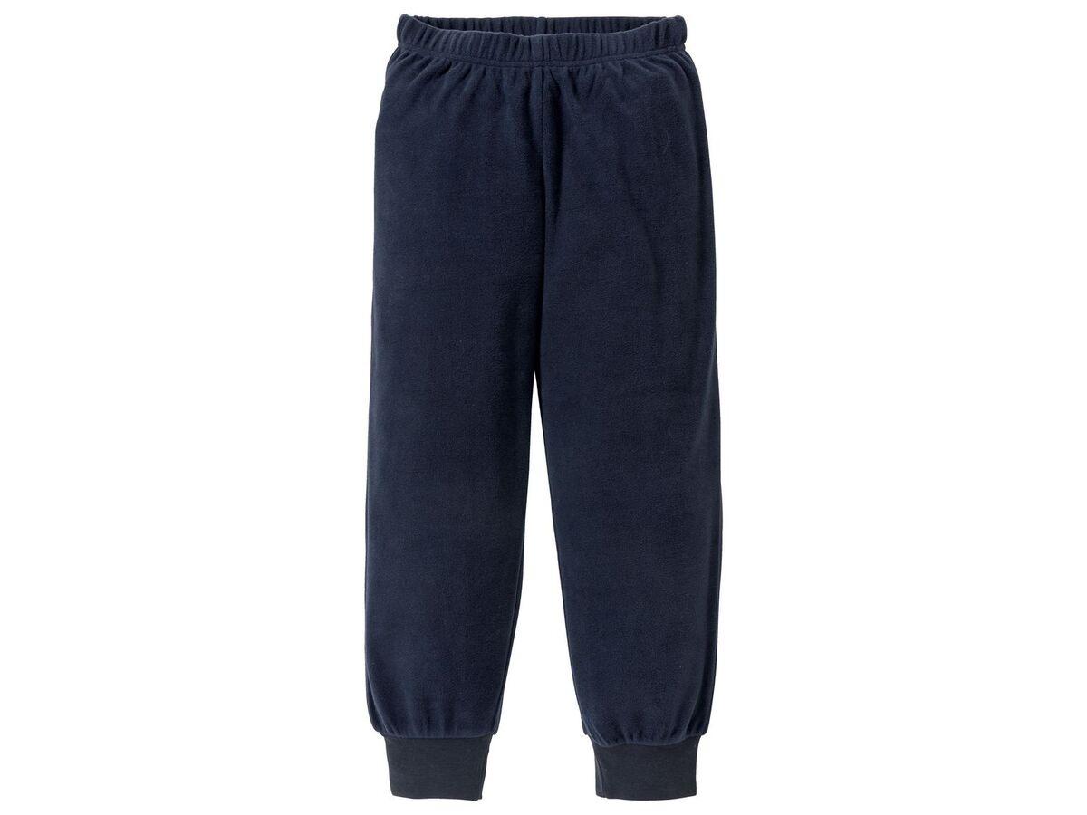 Bild 5 von PEPPERTS® Jungen Pyjama, Shirt aus Baumwolle, Hose in Fleece-Qualität