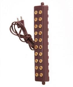 """Riffelmacher Steckerleisten 10-fach """"11cm, 4.5V"""""""