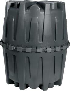 Garantia Abwasser-Sammelgrube Herkules 1.600 l, schwarz, mit DIBt-Zulassung