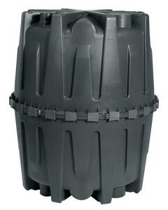 Garantia Abwasser-Sammelgrube Herkules 3.200 l, schwarz, mit DIBt-Zulassung