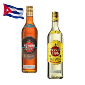 Havana Club Añejo 3 Años, Verde oder Especial