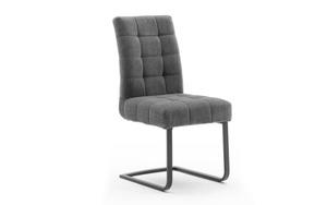 MCA furniture - Schwingstuhl mit Griff Salta in dunkelgrau