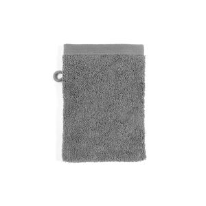 Waschhandschuh Pure, L:21cm x B:15cm, dunkel-grau