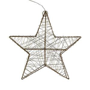 Lichtobjekt Stern Outdoor, D:38cm, gold