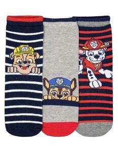 Jungen PawPatrol-Socken im 3er-Pack