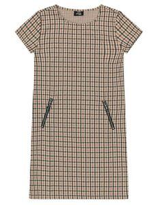 Mädchen Kleid mit Reißverschluss