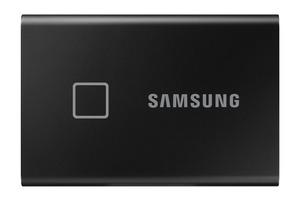 SAMSUNG Portable SSD T7 Touch 500 GB Festplatte in Schwarz