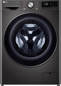 LG F4WV910P2S Waschmaschine mit 1400 U/Min. in Metallic Black Steel