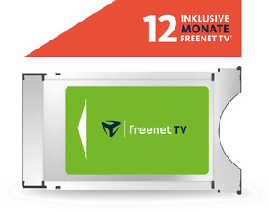 FREENET TV CI+ Modul für DVB-T2 HD inklusive 12 Monate freenet TV Modul