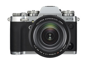 FUJIFILM X-T3 Silber inkl. XF16-80mmF4 R OIS WR Kit Systemkamera 26.1 Megapixel  , 7.6 cm Display   Touchscreen, WLAN