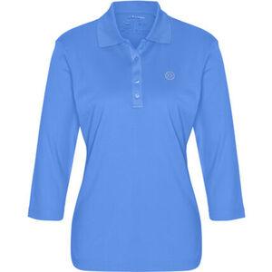 """Adagio Poloshirt """"Tory"""", 3/4 Ärmel, Strass, Pima Cotton, für Damen"""