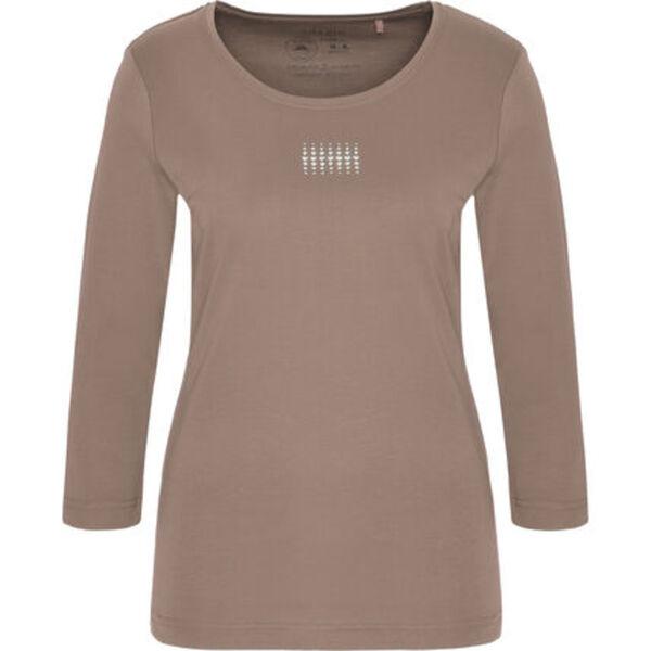 """Adagio T-Shirt """"Angie"""", 3/4 Ärmel, Strass, Pima Cotton, für Damen"""