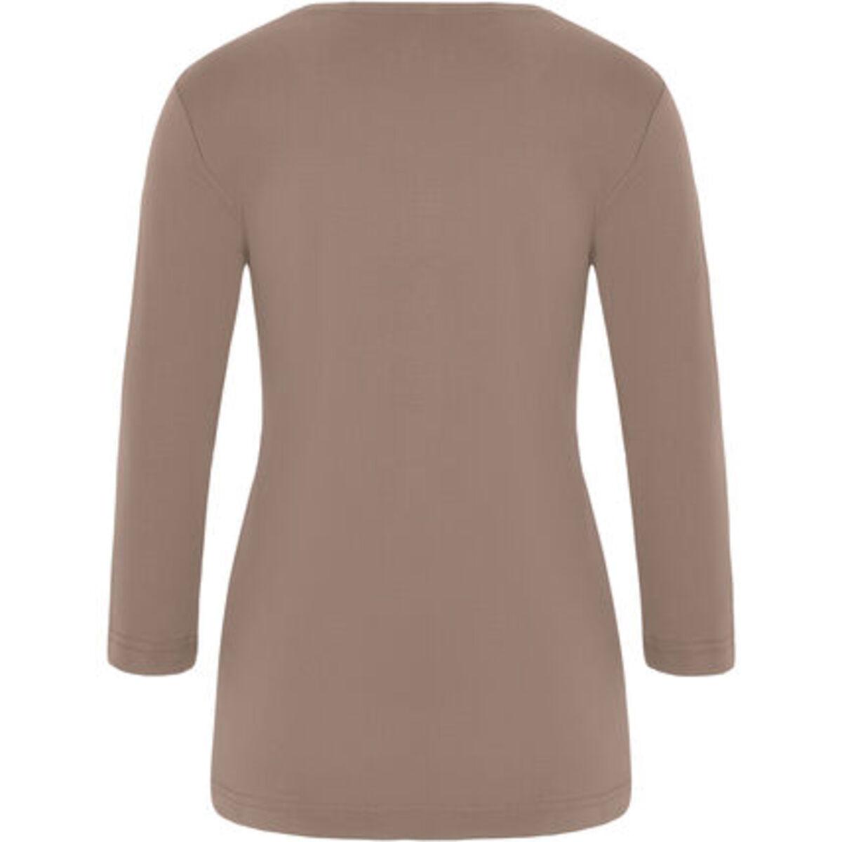 """Bild 2 von Adagio T-Shirt """"Angie"""", 3/4 Ärmel, Strass, Pima Cotton, für Damen"""