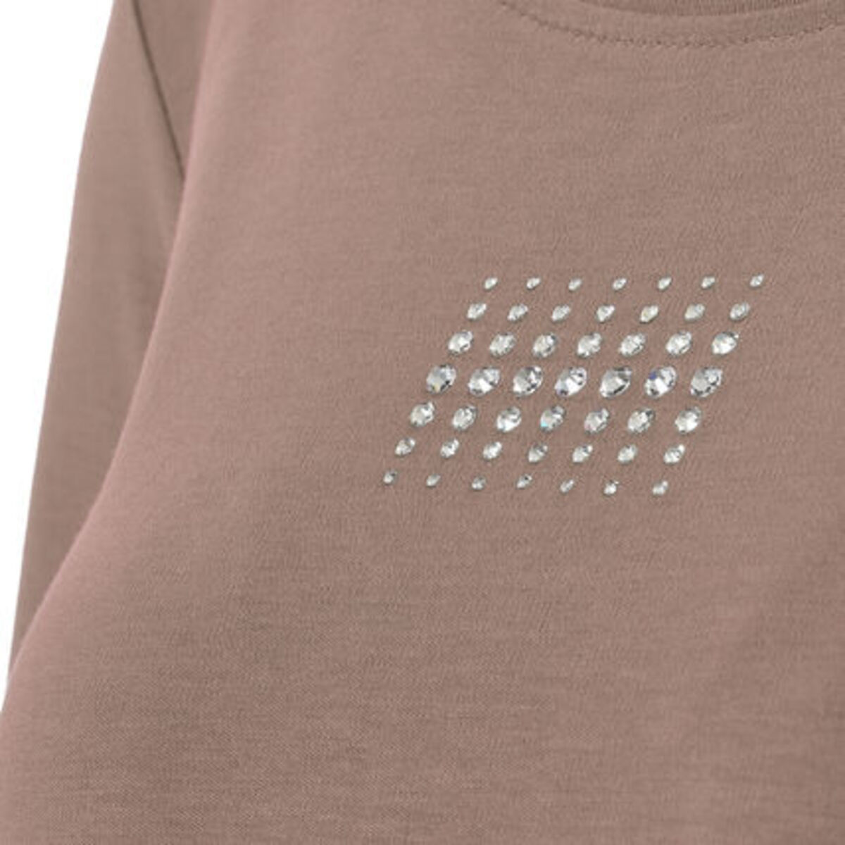 """Bild 3 von Adagio T-Shirt """"Angie"""", 3/4 Ärmel, Strass, Pima Cotton, für Damen"""