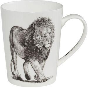 "Maxwell & Williams Henkelbecher ""African Lion"", Marini Ferlazzo, hoch"