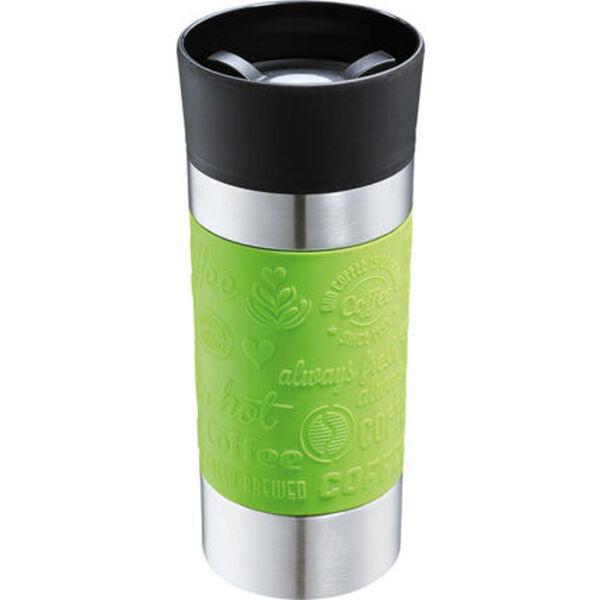 """Cilio Isolierbecher """"Viaggio"""", 360 ml, grün"""