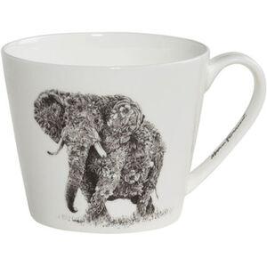"Maxwell & Williams Henkelbecher ""African Elephant"", Marini Ferlazzo, breit"