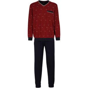Götzburg Pyjama, Brusttasche, Bündchen, für Herren