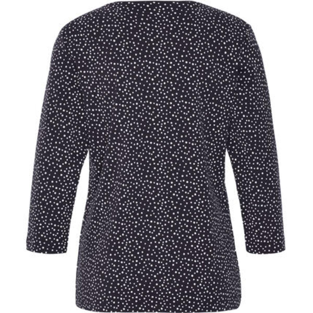 """Bild 2 von Adagio T-Shirt """"Svenja"""", 3/4 Ärmel, Punkte, Pima Cotton, für Damen"""