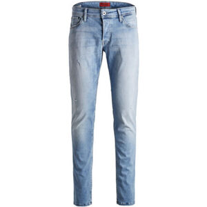 Jack & Jones Glenn Original Jeans, Slim Fit, Tapered, Low Rise, Waschung, für Herren