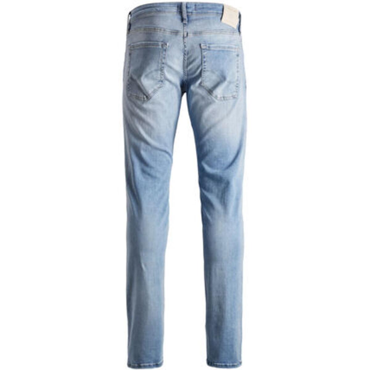 Bild 2 von Jack & Jones Glenn Original Jeans, Slim Fit, Tapered, Low Rise, Waschung, für Herren