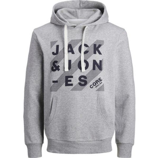 Jack & Jones Hoodie, Print, Tunnelzug, Kängurutasche, für Herren