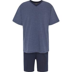 K|town Schlafanzug, kurz, V-Ausschnitt, Jersey, für Herren