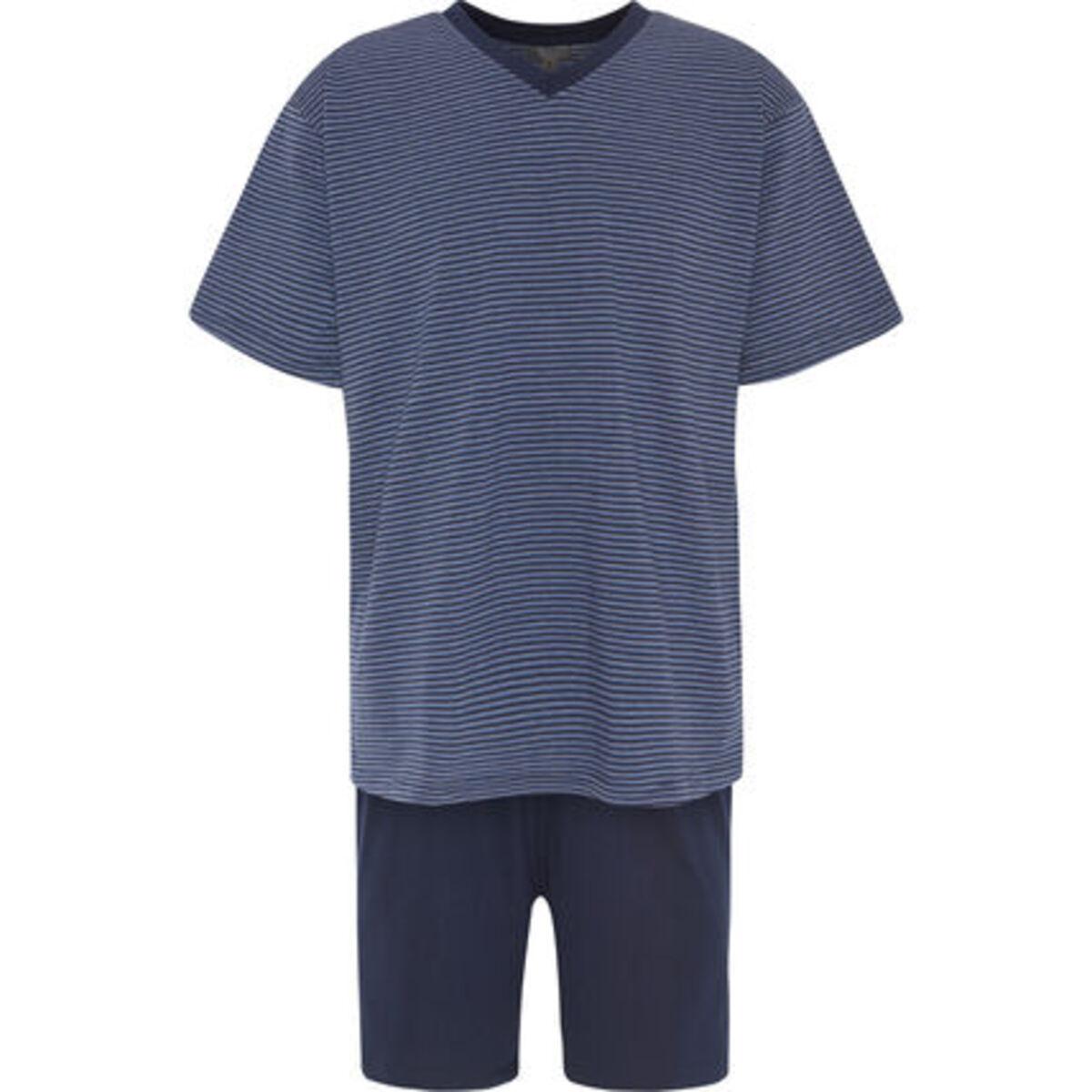 Bild 1 von K|town Schlafanzug, kurz, V-Ausschnitt, Jersey, für Herren
