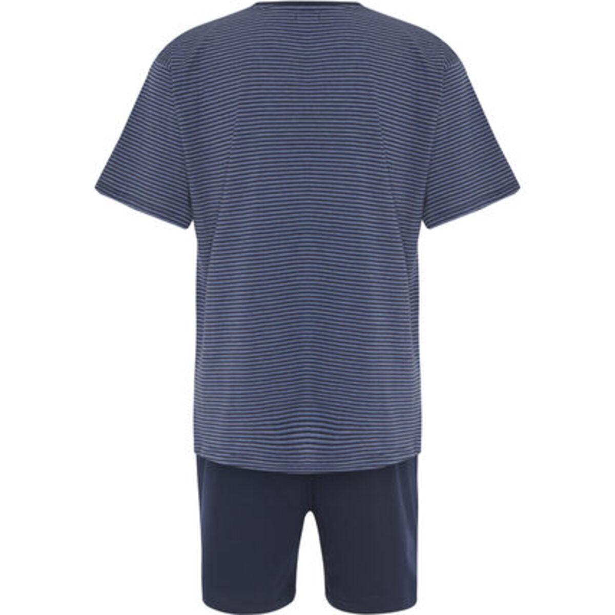 Bild 2 von K|town Schlafanzug, kurz, V-Ausschnitt, Jersey, für Herren