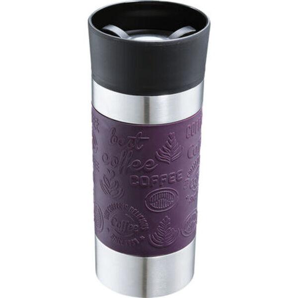 """Cilio Isolierbecher """"Viaggio"""", 360 ml, lila"""