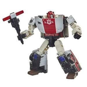 Transformer War for Cybertron Deluxe Red Alert Actionfigur