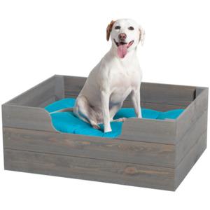 Hundekorb aus Holz