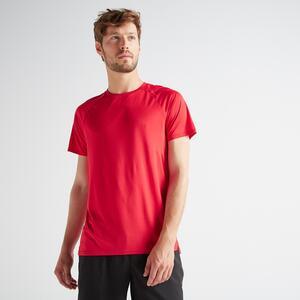 T-Shirt FTS 100 Fitness Cardio Herren rot