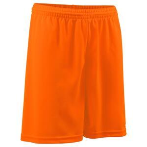 Fußballshorts F100 Erwachsene orange
