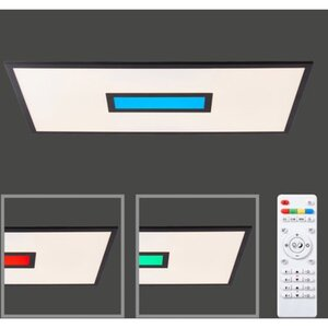 LED-Deckenleuchte Agneta 40 W 80 cm x 40 cm
