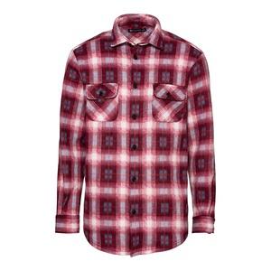 Herren-Fleece-Hemd mit 2 Brusttaschen
