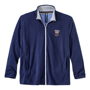 Herren-Sweatshirt mit schönem Kontrast-Reißverschluss