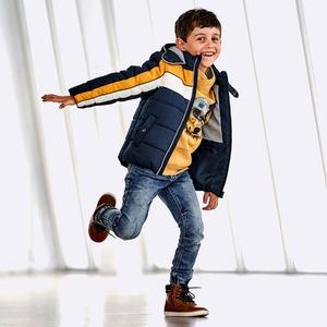 Kinder-Jungen-Joggdenim mit verstellbarem Bund