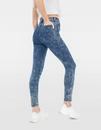 Bild 2 von Verwaschene High Waist Skinny Jeans