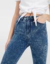 Bild 3 von Verwaschene High Waist Skinny Jeans