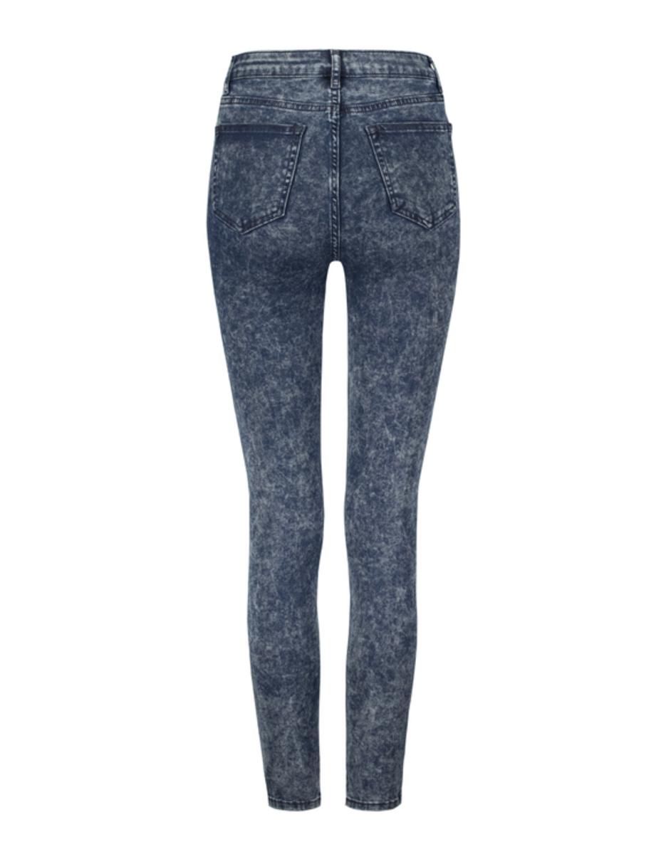 Bild 5 von Verwaschene High Waist Skinny Jeans