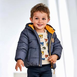 Baby-Jungen-Jacke mit kuschelweichem Futter