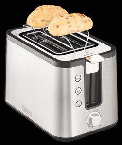 Krups Toaster KH442, 2 kurze Schlitze, für 2 Scheiben, 720 W