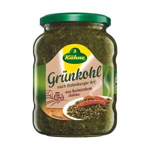 Kühne Grünkohl tafelfertig oder fix & fertig jedes 720-ml-Glas/450-g-Abtropfgewicht