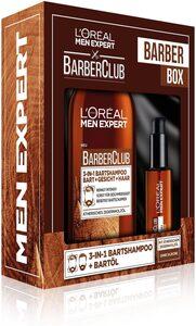 L'ORÉAL PARIS MEN EXPERT Geschenk-Box »Barber Club Box«, 2-tlg., Bartreinigung & Pflege im Geschenkset