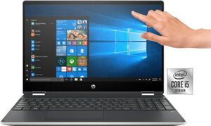 HP Pavilion X360 15-dq1220ng Notebook (39,6 cm/15,6 Zoll, Intel Core i5, UHD Graphics, 1000 GB HDD, 256 GB SSD, inkl. Office-Anwendersoftware Microsoft 365 Single im Wert von 69 Euro)