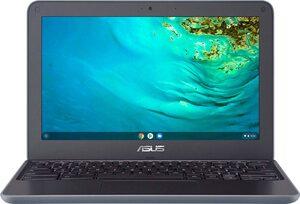 Asus ChromeBook C202XA-GJ0051 Chromebook (MediaTek, 32 GB SSD, inkl. Office-Anwendersoftware Microsoft 365 Single im Wert von 69 Euro)