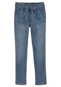 Arizona Stretch-Jeans (Set, mit Bindegürtel) in bequemer Form